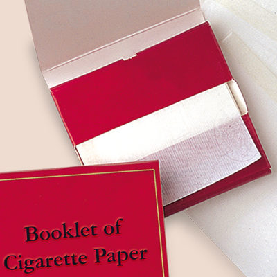 BOOKLET OF CIGARETTE PAPER